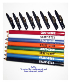 Graff Etch Hair Colour Pencils